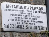 Plaque Descartes